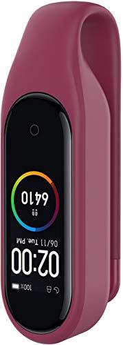 Shieranlee Compatible con Xiaomi Mi Band 6 Correa,Correa de Reloj de Pulsera de Pulsera de Silicona Suave de Color sólido Multicolor de Estilo clásico para Xiaomi Mi Band 5 /Mi Band 6
