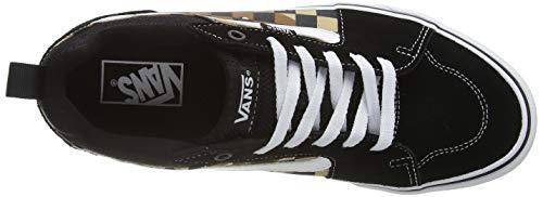 Vans Atwood Canvas, Sneaker Uomo, Multicolore ((Camo Check) Black/White W4R), 42 EU