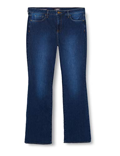NYDJ Barbara Bootcut Jeans, Cooper (Mid Blue Denim), 8 Donna
