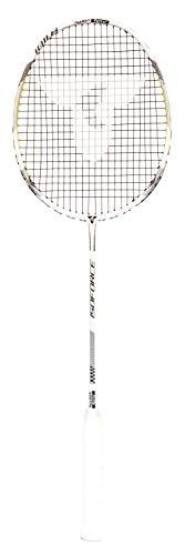 Talbot-Torro Badmintonschläger Isoforce 1011.8, 100% Carbon4, ultraleichte 80g Gesamtgewicht durch Graphitgriff, Gewinner des Red Dot Design Awards 2018, 439551
