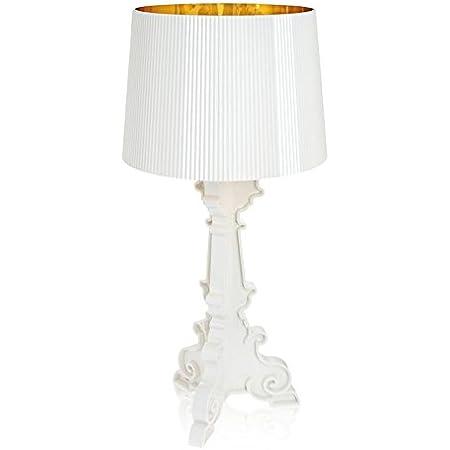 Lampada da tavolo Bourgie Kartell–Bianco Oro