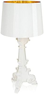 Lampe de table Bourgie Kartell - Blanc Or