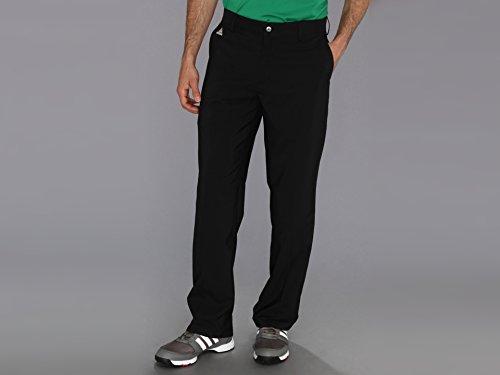 adidas Golf Men's Climalite 3-Stripes Tech Pant, Black, 34/32-Inch