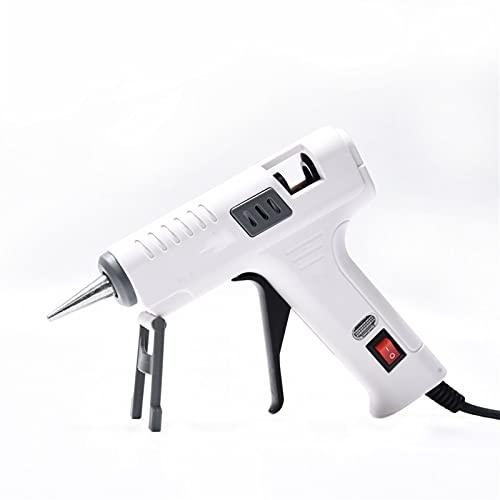 Pistola de pegamento de fusión en caliente 40W Adhesivo profesional Palillo Silicona Pistola de silicona Calor eléctrico industrial Temperatura (Color : 1, Size : A)