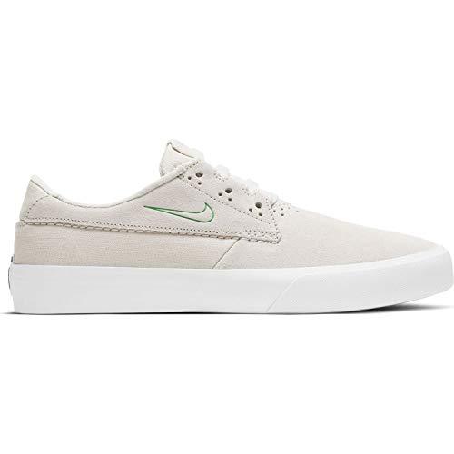 Nike Sb Shane Zapato de skate para hombre, marfil (Summit Blanco/Verde Lucky), 41 EU