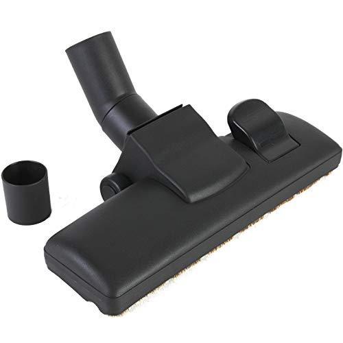 DeClean Staubsauger Bodendüse 32-35 mm, Staubsaugerdüse Staubsaugerfuß Laminat universal umschaltbar für Laminat und Teppich