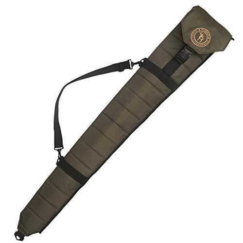 TOURBON Bolsa de transporte plegable para armas de caza, funda de almacenamiento para escopeta – verde