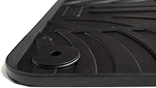 Just Carpets Passgenaue Gummi Fußmatten für Ihren Golf Sportsvan | Ausführung: Alle | Baujahr: 2014 2021 | 4 teilig | Material: Gummi | Rutsch  und Wetterfest