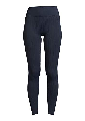 Casall Damen Seamless Line Leggings Pushing Blue,L