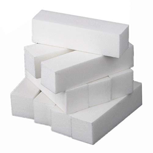 Minkissy 20 Pcs Ongles Tampon Bloc Éponge Fichiers Polisseuse Éponge Ponçage Bloc Fichiers Manucure Nail Art Pédicure Outils de Meulage pour Salon de Maison