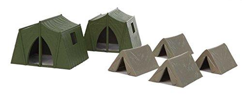 Spur H0 - Zelte 6 Stück