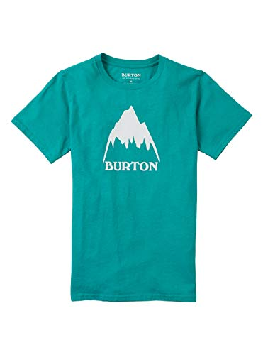 Burton Classic Mountain High Short Sleeve T-Shirt á Manches Courtes Enfant Dynasty Green FR: L (Taille Fabricant: L)