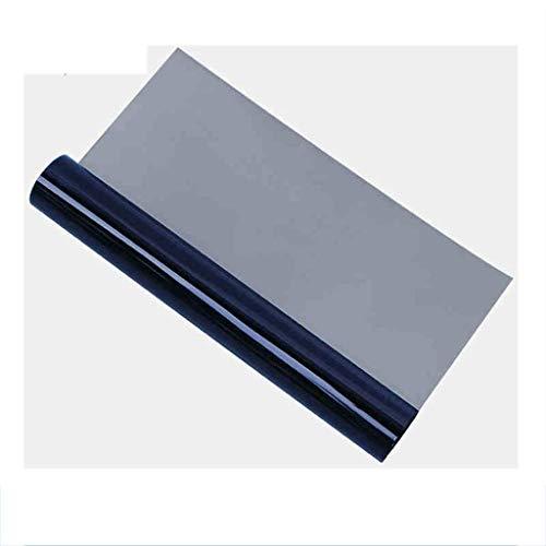 ZXL Venster films glas film one-way perspectief blauw zwarte spiegel sticker sunroom balkon venster explosieveilige folie infrarood remming snelheid: 73,4%, (grootte: 90 * 100cm)
