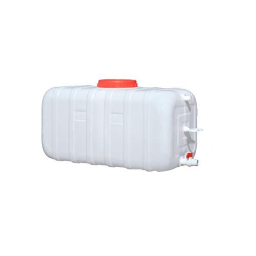 Bidones agua Tanque De Agua De Plástico De Gran Capacidad Para El Hogar De Grado Alimenticio Cubo De Almacenamiento De Agua Rectangular Grueso Con Tapa Tanque De Almacenamiento De Agua Grande Horizont
