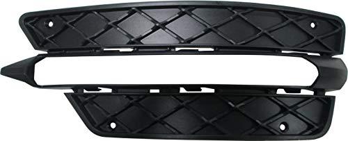 JP Auto Fog Light Lamp Cover Trim Bezel Compatible With Mercedes Benz C Class C250 C300 C350 Sedan Coupe 2012 2013 2014 Driver Left Side