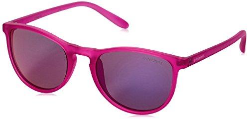Polaroid PLD 8016/N AI IMS Gafas de Sol, Rosa (Bright Pink/Grey Pink Grey Speckled Pz), 48 Unisex Niños