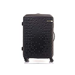 Amercian Tourister Cruze ABS 80 cms Black Hardsided Carry-On (AN6 (0) 01 001),Samsonite,AN6 (0) 09 003