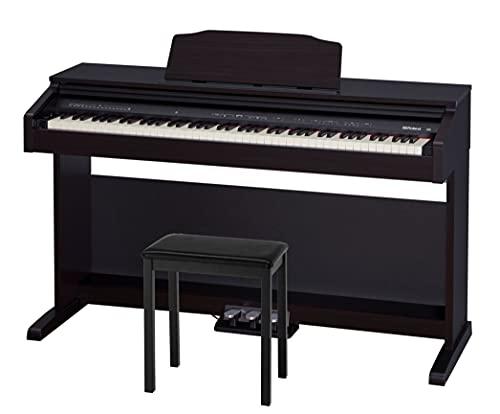 【お持ちの電子ピアノ引取り料&配送組立設置料込み】Roland ローランド DigitalPiano 電子ピアノ 88鍵盤 RP30 (高さ固定椅子BNC-11BKセット, ❸延長5年保証セット)
