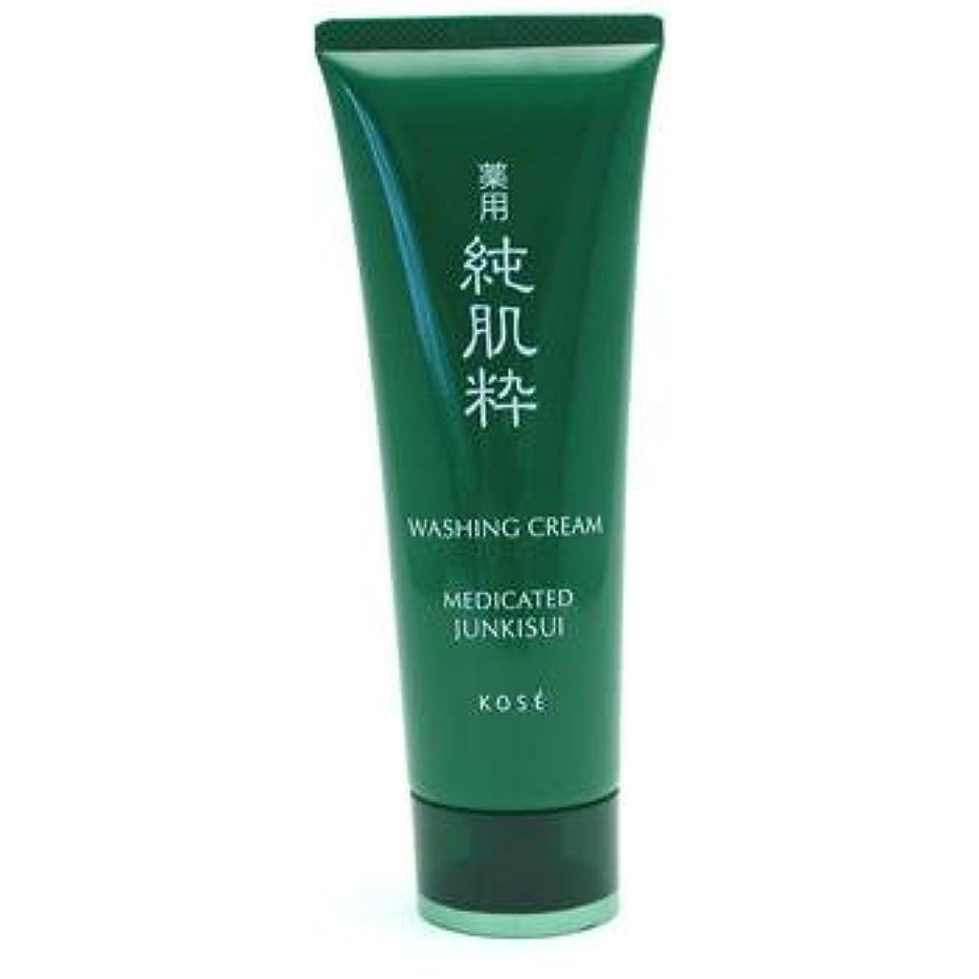 封建びっくり矢じりコーセー 薬用純肌粋 洗顔クリーム<医薬部外品>(120g)