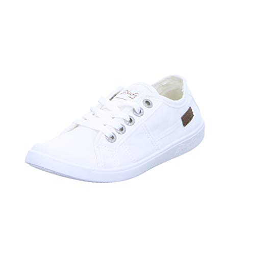 Blowfish Damen Vesper Sneaker, Weiß (White Colour Washed Canvas 169), 39 EU