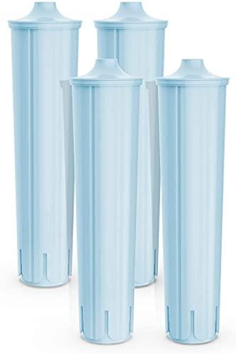 Wasserfilter für Jura Claris Blue, Filterpatrone für Jura Automatische Kaffeevollautomat, Kompatibel mit der ENA IMPRESSA-Serie (4 pcs)