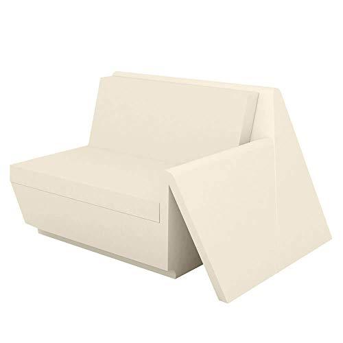 Vondom Rest canapé module gauche écru
