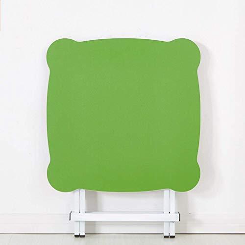 Inklapbare tafel HQCC – draagbare eettafel – klaptafel balkon – 60 x 60 x 55 cm (kleur: blauw) – campingtafel