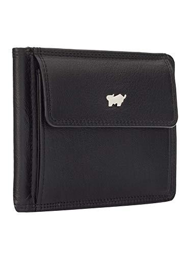BRAUN BÜFFEL BRAUN BÜFFEL Geldbörse Golf 2.0 aus echtem Leder - 6 Fächer - schwarz