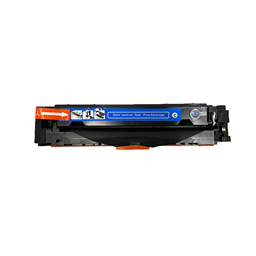 AXAX Reemplazo del Cartucho de tóner para HP CF510A Compatible para HP Color Laserjet Pro M154 M154A M154NW M180 M180N M181 M181FW Impresora, Impresión Estable de la CINT Cyan