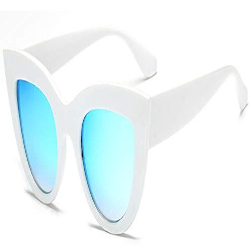 Sunglasses Gafas De Sol para Mujer Gafas De Gato Gafas De Sol Gafas De Influencia para Mujer Gafas para Mujer Whitevblue