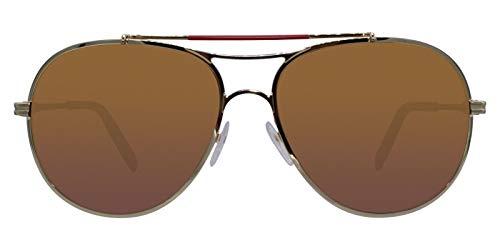 Montblanc Mont Blanc Sunglasses Mb703S 32H-61-15-140 Gafas de sol, Dorado (Gold), 61 para Hombre