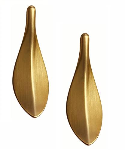 2 Unités Alliage de Zinc Poignee Meuble,Poignée Meuble Cuisine,Bouton de Meuble Doré, Tiroir Meuble Cuisine Home Decorating,Trou Centre Distance 32 mm