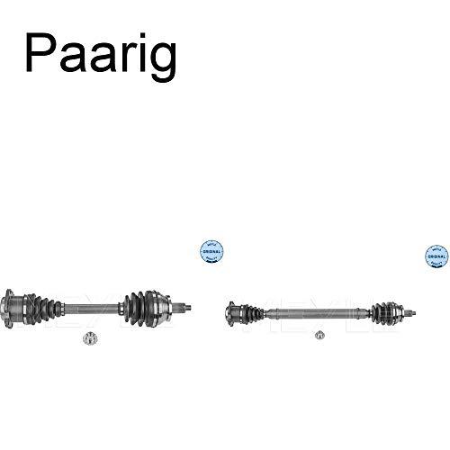 2x Meyle Antriebswelle Gelenkwelle Vorderachse links+rechts