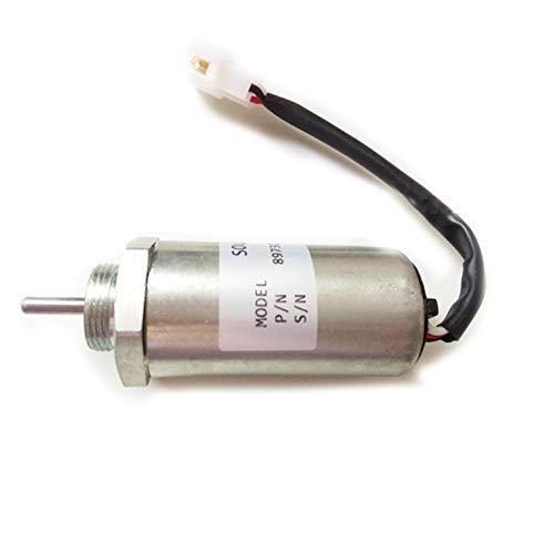 SINOCMP 897209-1152 Interrupteur d'arrêt de carburant 12 V - Électrovanne d'arrêt de carburant pour pièces de moteur Excavatrice Disel