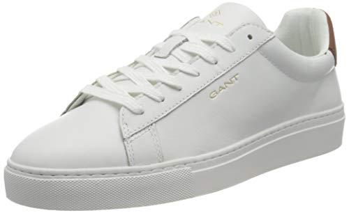 GANT Footwear Herren Mc Julien Sneaker, br.wht/Cognac, 44 EU
