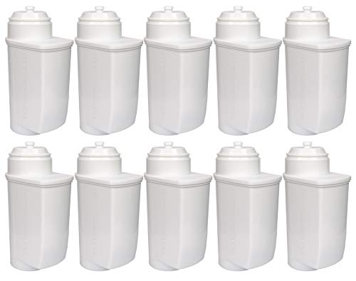 10-pack Entkalkung Wasserfilter für Kaffeevollautomaten kompatibel BRITA INTENZA | EQ3 EQ5 EQ6 EQ7 EQ8 EQ9 | TCZ7033 TZ70003 | Bosch VeroAroma, VeroBar, VeroCafe, VeroProfessional