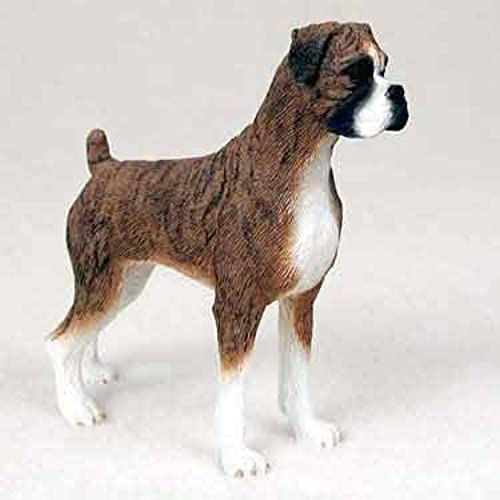 Boxer Figurine Brindle Uncropped by Conversation Concepts