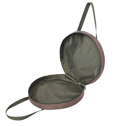 Toygogo Brown Keepnet/Stink Bag With Zipped Top & Side