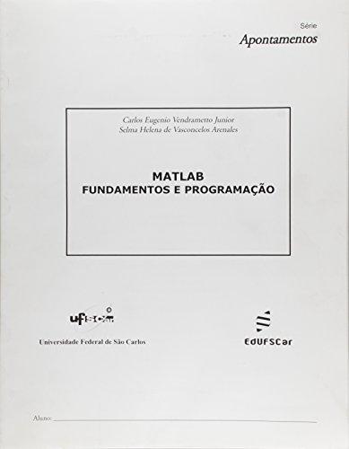 Matlab: Fundamentos e Programação