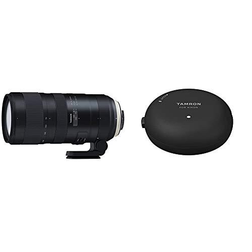 Tamron SP 70-200mm F/2.8 Di VC USD G2 Objektiv fr Nikon schwarz, A025N & TAP-01N Tap-in Console für Nikon schwarz