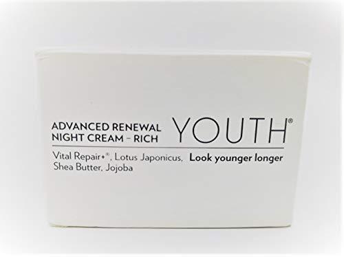Shaklee YOUTH Advanced Renewal Night Cream Rich 1.7 Fl Oz