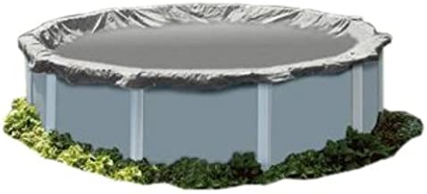 PoolTux 121232A King Winter Cover for 28-Feet Round Above Ground Pool