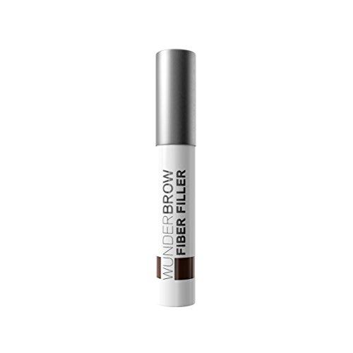 WUNDER2 FIBER FILLER Makeup Augenbrauenpuder Lang anhaltendes, abriebfestes leicht auftragendes Augenbrauen-Makeup, Farbton Brunette