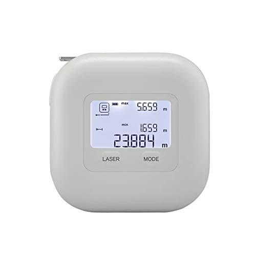 FDSZ Montaje de Rango, Instrumento de medición de precisión multimodo de Dos en uno, medidor de Mano Regla de extracción de Instrumentos de medición electrónica, para la Distancia de medición
