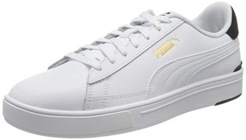 PUMA Serve PRO, Scarpe da Ginnastica Unisex-Adulto, Bianco (White Team Gold Black), 44 EU