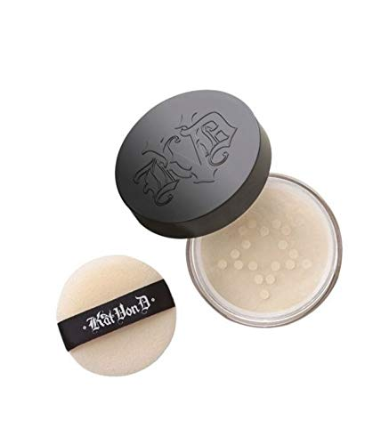 Kat Von D Lock It Setting Powder – Traslucido – Travel Size (5.4g/0.19oz)