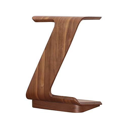 Feifei Table d'appoint, Panneau à Base de Bois, Table Basse en Forme de Z, Multifonction, avec canapé et poulie Mobile, 40 * 30 * 62CM, 2 Couleurs (Couleur : A)