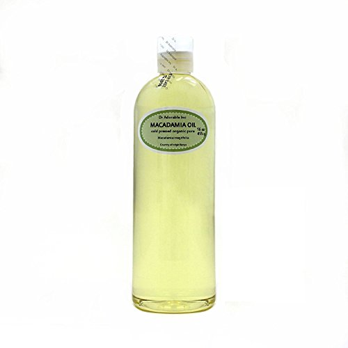 Macadamia Nut Organic Oil Cold Pressed 16 Oz
