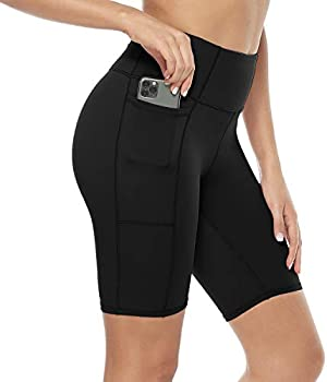 Davenil Women's High Waist Shorts with Pockets