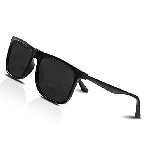 CHEREEKI Sonnenbrille, UV400 Retro Polarisierte Sonnenbrille für Herren und Damen